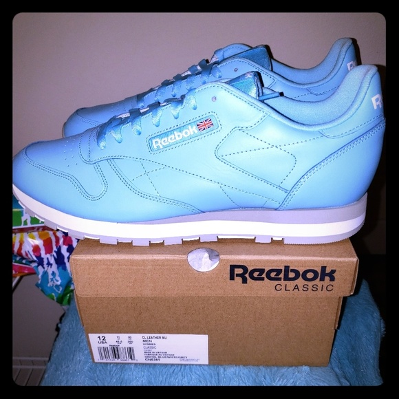 ea12fb8da3a 🆕 🚹Reebok Classic Leather MU  Digital Blue  12🔥